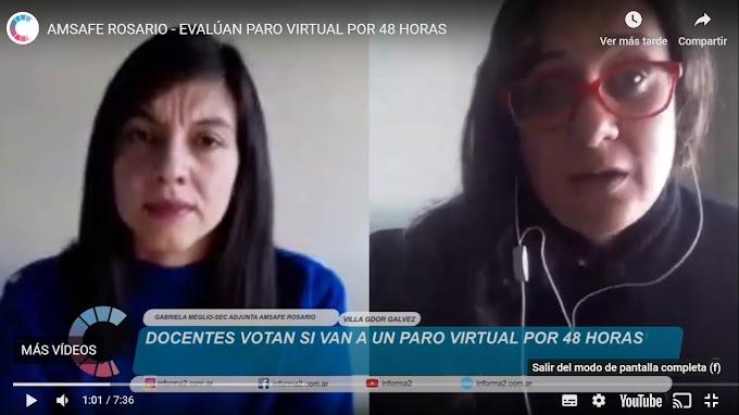 Docentes votan si van a un PARO VIRTUAL por 48 horas
