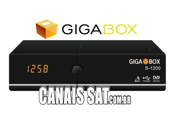 Gigabox S1200 Atualização Modificada SKS 61W ON - 02/11/2020