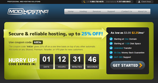 MDDHosting Coupon Code, MDDHosting Review