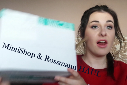 MintiShop & Rossmann HAUL