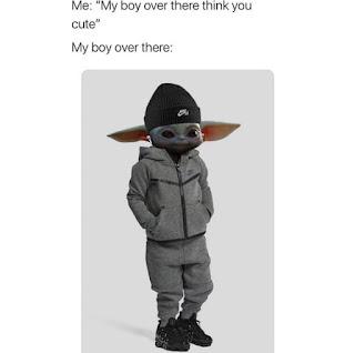 Baby Yoda Meme by @daquan on Snapchat