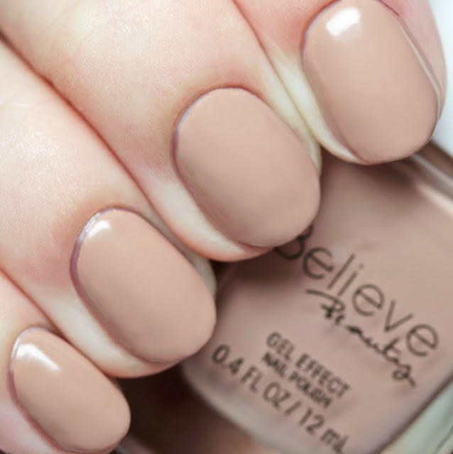 Believe Beauty Gel Effect Nail Polish Baby Porcelain