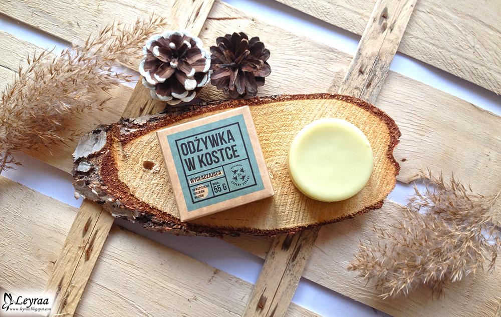 Testuję szampon i odżywkę w kostce! Naturalna i ekologiczna odżywka w kostce 4 Szpaki