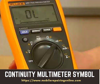 ohms symbol on multimeter