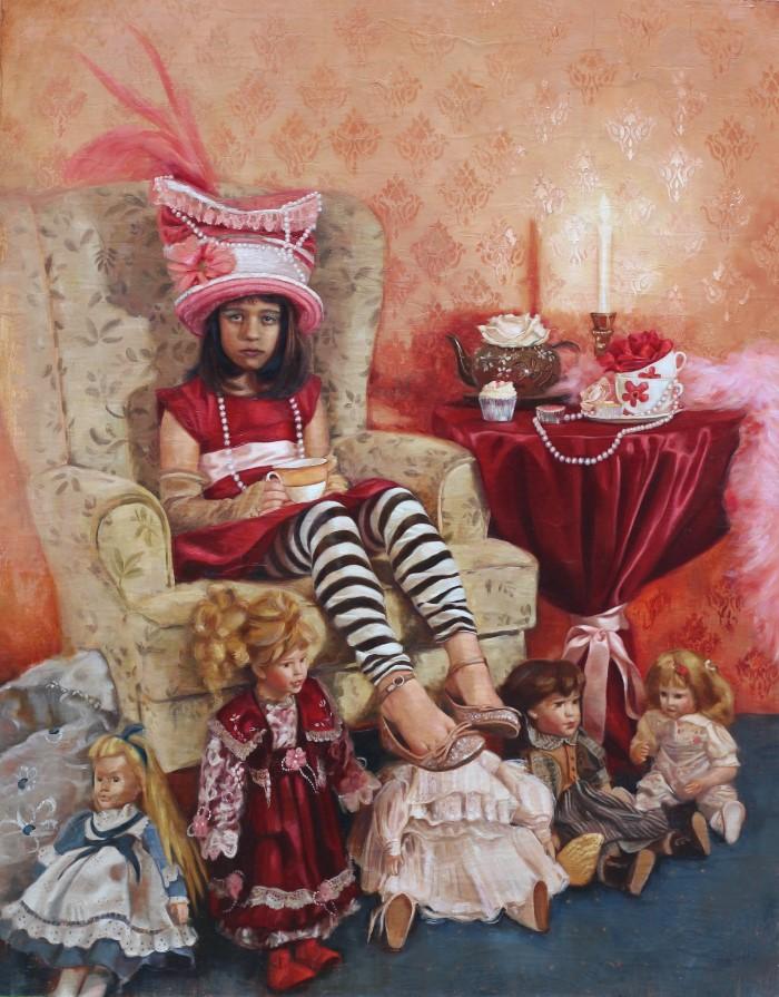 Грань между реализмом и сюрреализмом. Rosso Emerald Crimson