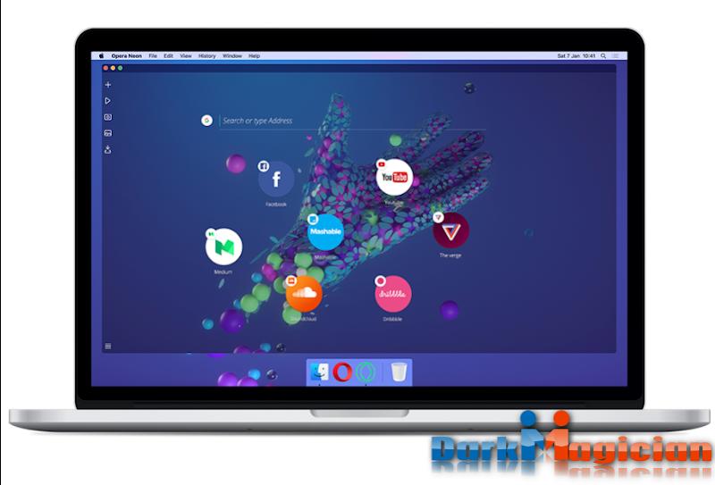 Opera Neon Computer Browser Review সাথে ডাউনলোড করে নিন পিসির জন্য