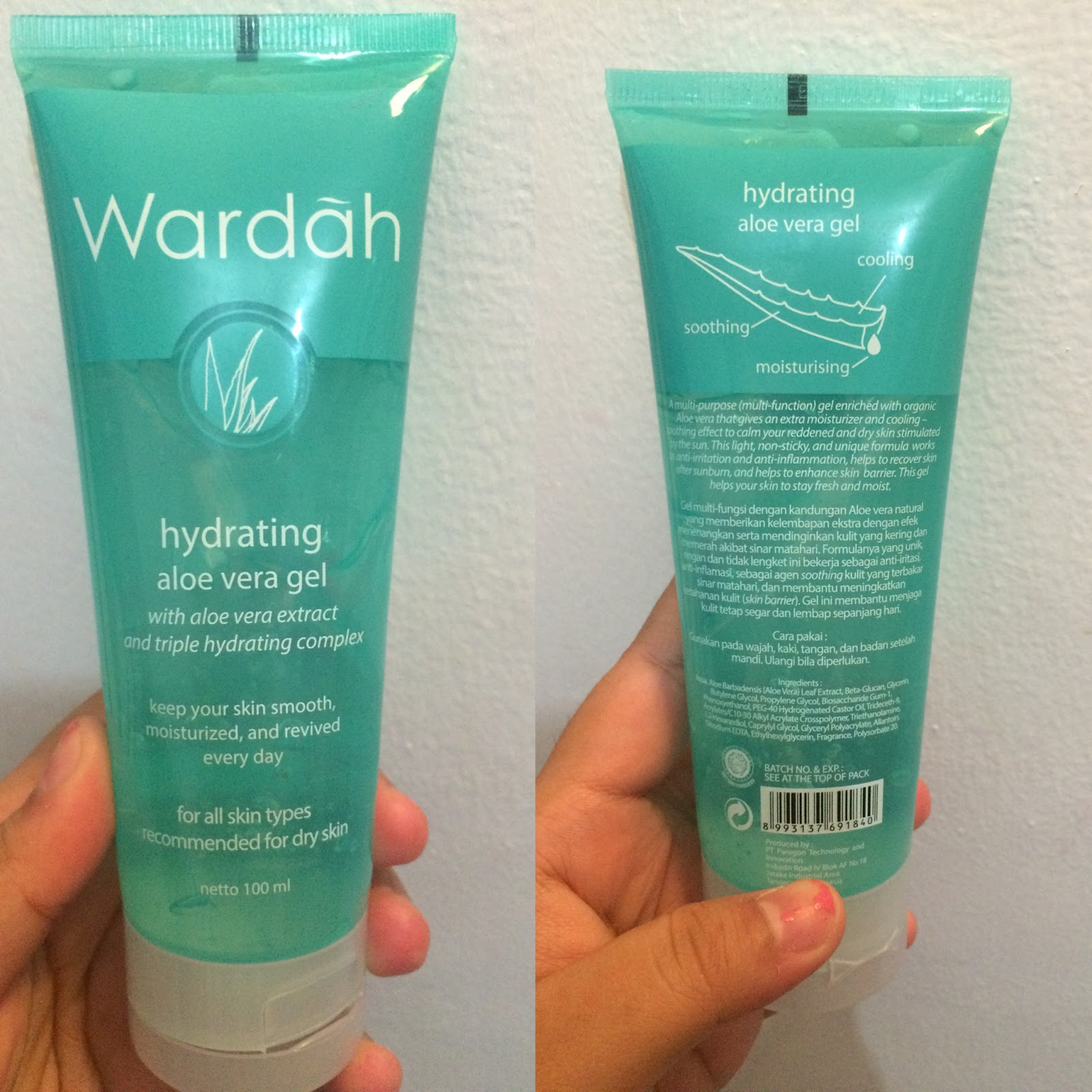 FORUM Review Wardah Hydrating Aloe Vera Gel dong Body&Skincare