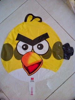 Foil Character Angry Bird Kuning
