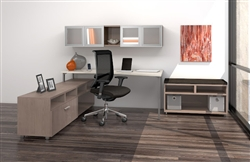 Contemporary Desk Configuration