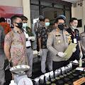 Polisi Berhasil Bongkar Home Industry Tembakau Sintetis, 3 Pelaku Ditangkap