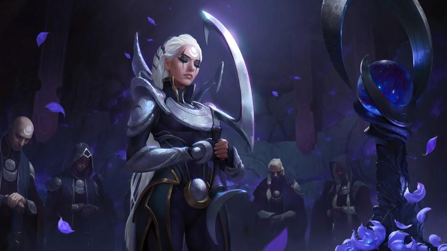 Diana, LoL, Targon, Legends of Runeterra, 4K, #5.2717