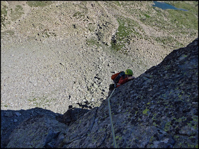 Espolón Nor Oeste del Pic de Ribuls, tercer largo