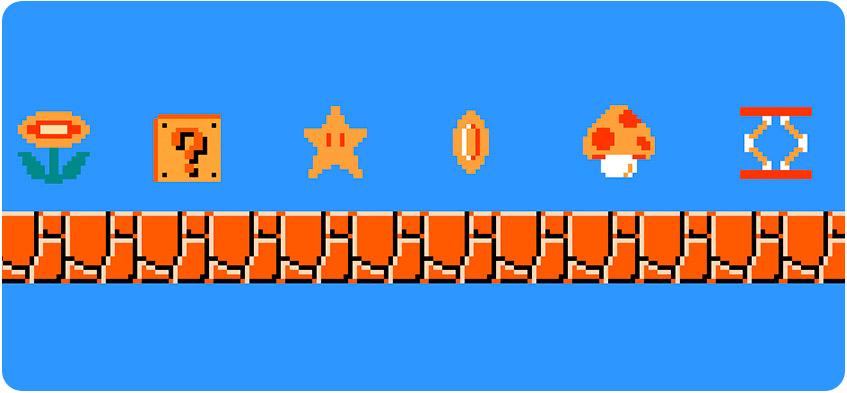 Diseñar los ítems de un videojuego