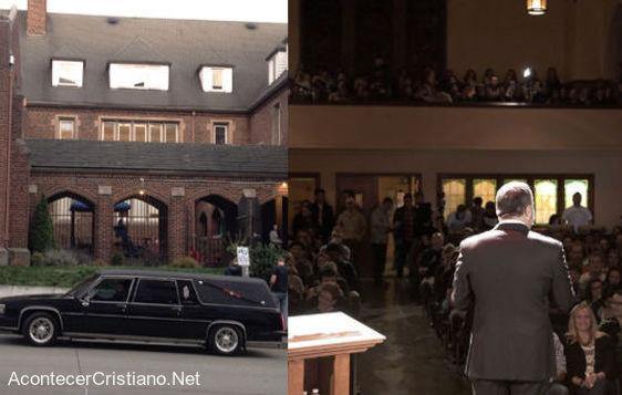 Sermón coche fúnebre la iglesia está muerta