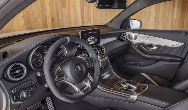 2018 Mercedes-AMG GLC63 Coupe Interior