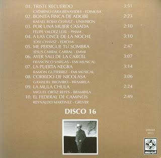 Antonio Aguilar - Mi Historia Disco 16