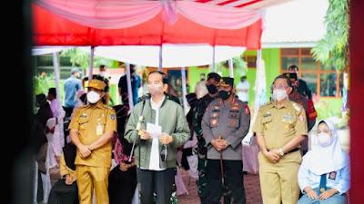 Jokowi Beri Apresiasi Pelaksanaan Vaksinasi Covid-19 di Wajo