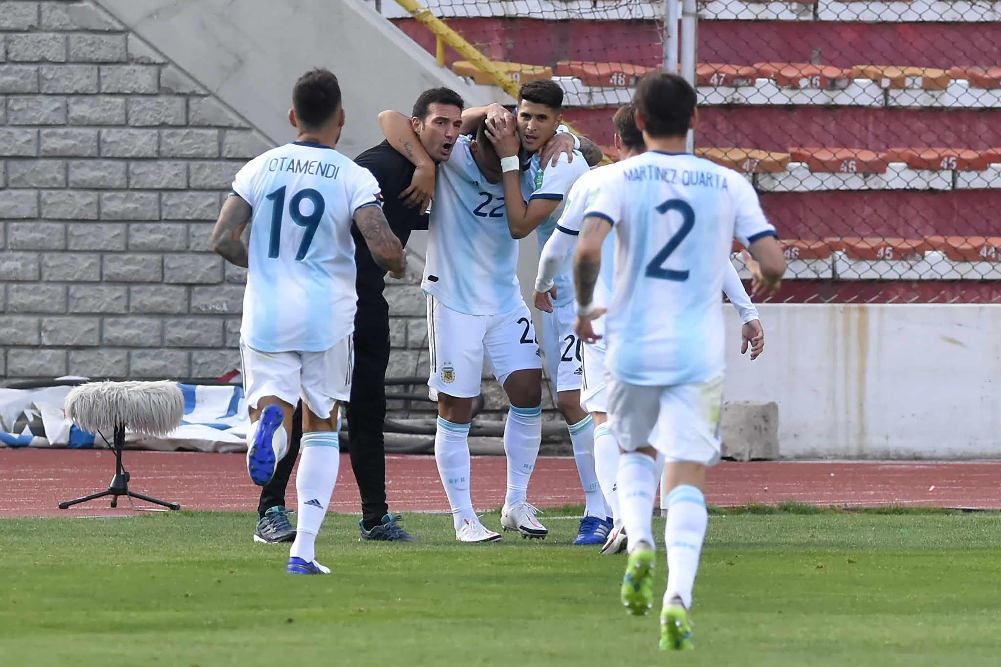 Eliminatorias Sudamericanas Bolivia Argentina