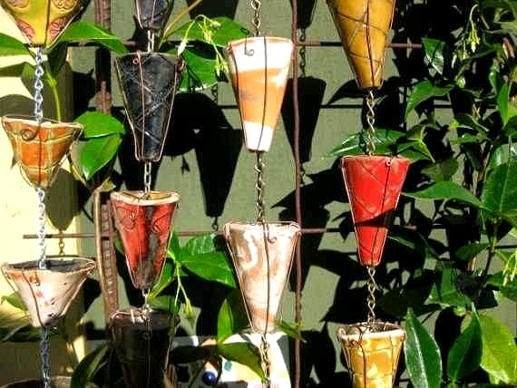 Dishfunctional Designs Creative And Beautiful Diy Rain Chains