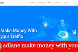 Adlane monetize your traffic
