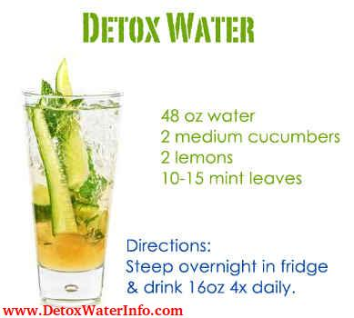 healthy benefits of cucumber lemon water in weight loss