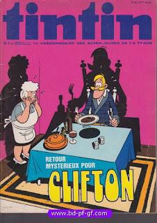 Tintin numéro 48, 1976, #Clifton