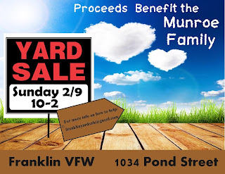 yard sale - Franklin VFW