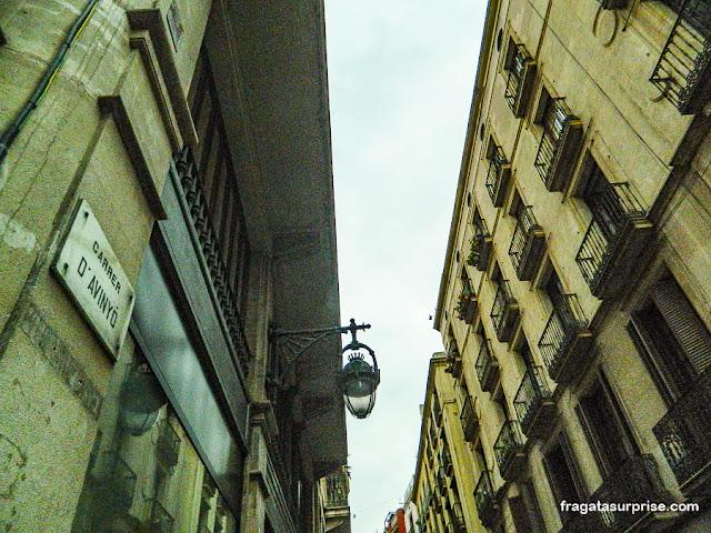 Carrer d'Avinyó, Bairro Gótico, Barcelona