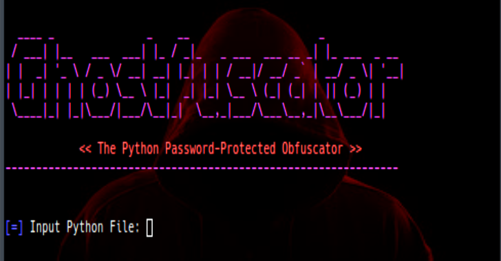 Ghostfuscator : The Python Password-Protected Obfuscator