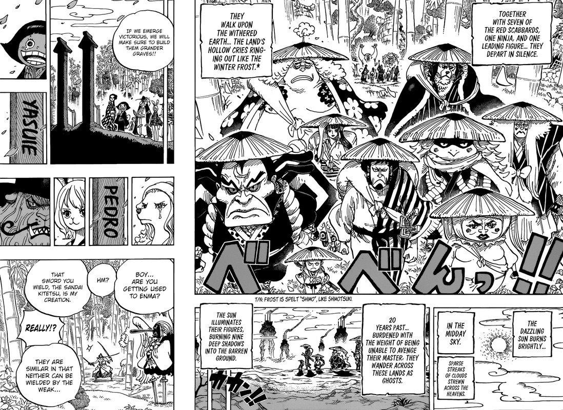 One Piece Manga Chapter 955 - Image 014