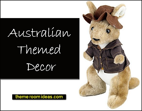 Kangaroo Swagman with sound Souvenir Stuffed Animal Toy