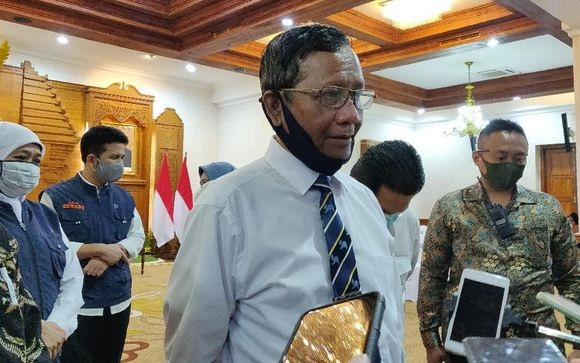 Mahfud MD Mengaku Didatangi Juliari untuk Konsultasi Bansos Covid