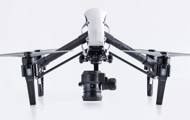 DJI Zenmuse X5, X5R the first Micro Four Thirds cameras designed for aerial use