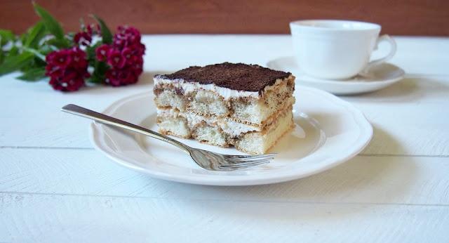 Tiramisu - włoski deser bez pieczenia (wersja bez jajek)