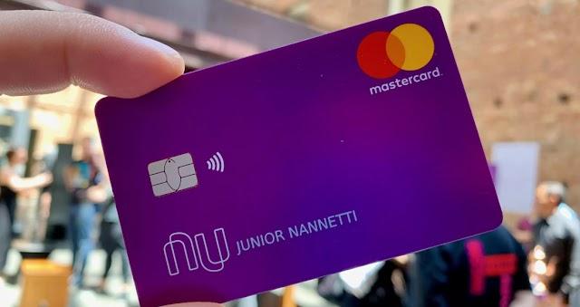 Nubank lança cartão para negativados sem necessidade de comprovar renda