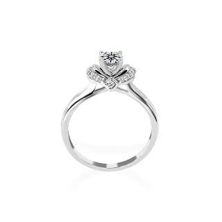Nhẫn kim cương nữ tinh xảo, quý phái