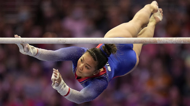 Sunisa Lee no Olympic Trials 2021