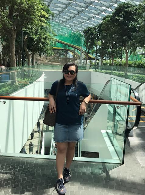 Jewel Changi Aiport, Singapura,