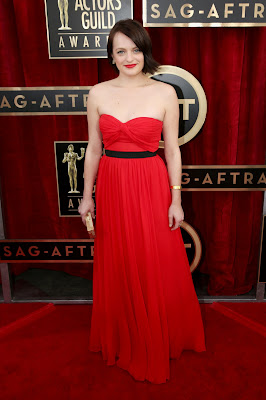 Elisabeth Moss Screen Actors Guild Awards 2014