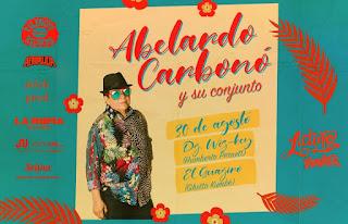Concierto Abelardo Carbono y su conjunto en Bogotá
