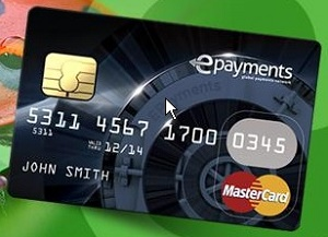 deposit withdraw epayments mastercard