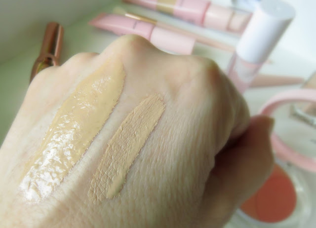 Trend It Up Rosy Touch make-up a korektor swatch