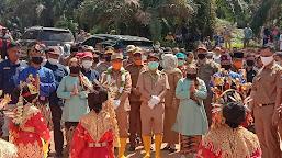 Bupati Dampingi Gubernur Jambi Kunker di Kecamatan Maro Sebo Ilir