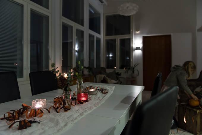 halloween juhlat kotona, kattaus