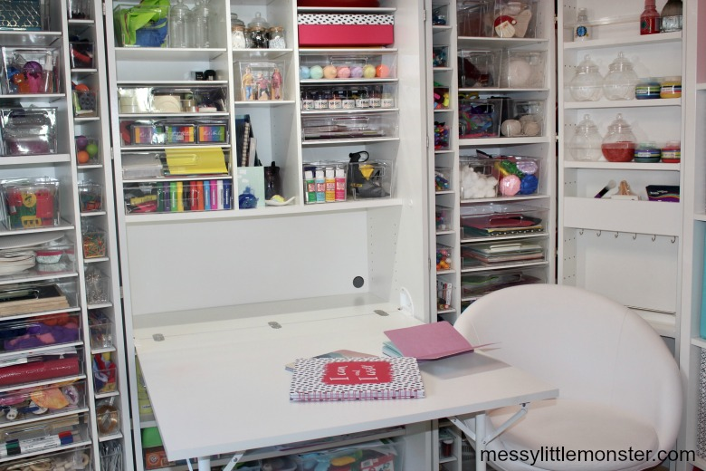 DreamBox craft room storage review