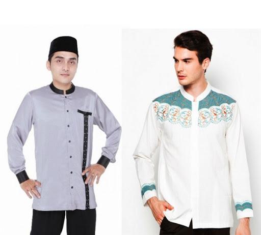 Model Baju Muslim Pria Koko Lengan Panjang Terbaru 2017/2018