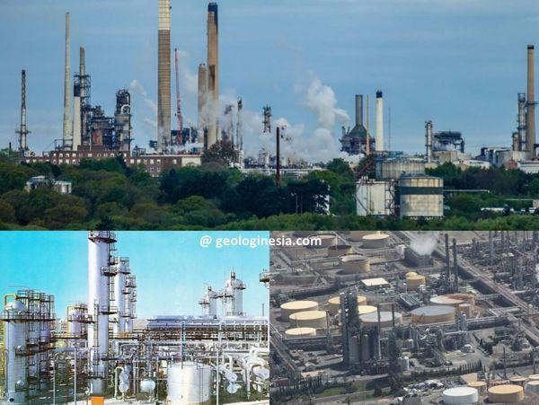 industri kilang minyak dan gas bumi