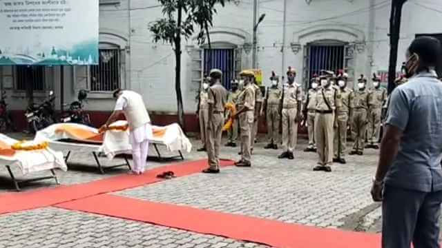 At least six assam police personnel were killed by Mizoram Police at..