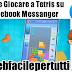 Come Gocare a Tetris su Facebook Messanger