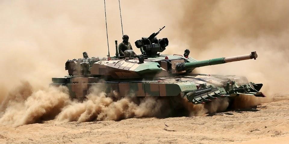 Міноборони Індії замовило 118 танків Arjun Mk 1A